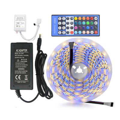 ZDM 5M NO-Wasserdichte 5050 RGBW LED Streifen Licht mit Power Remote Controller Kit