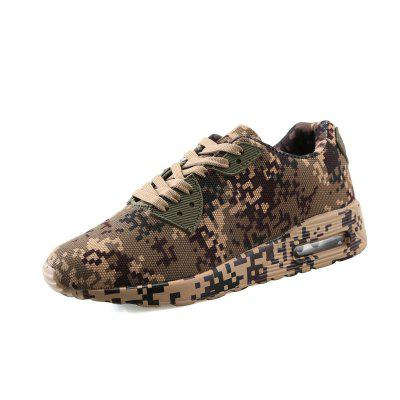 ZEACAVA Ultra-light Mesh Breathable Camouflage Military Training Running Shoes