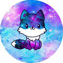 Round Anti Slip Gaming Cute Animal Rubber Mouse Pad