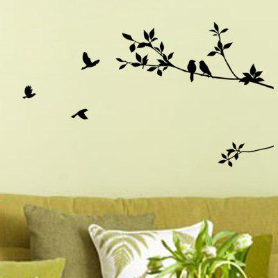 Twigs and Bird Wall Stickers