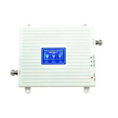 LTE 2600MHz WCDMA 2100MHz GSM 900MHz Cell Phone Signal Booster 2G 3G 4G Repeater
