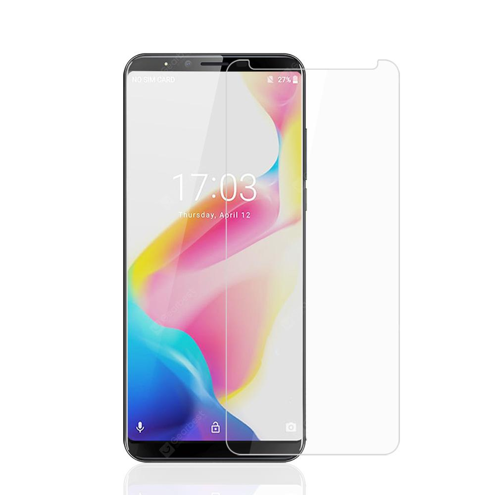 JOFLO 9H Tempered Glass Screen Protector Film for CUBOT X18 Plus 4G Phablet