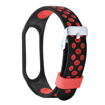 Sportband Siliconen polsband voor Xiaomi Mi Band 3 armband