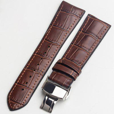 Limits Silicone Leather Rubber Waterproof Watch Strap Band PRO Buckle Spring