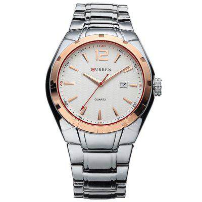 CURREN 8103 Luxe merk analoge display datum heren quartz horloge