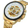 WINNER Men Fashion Business Style Stainless Steel Automatic Mechanical Watch - MULTI-D