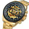 WINNER Men Fashion Business Style Stainless Steel Automatic Mechanical Watch - MULTI-E