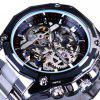 Forsining Men Punk Fashion Stainless Steel Automatic Mechanical Watch - MULTI-D