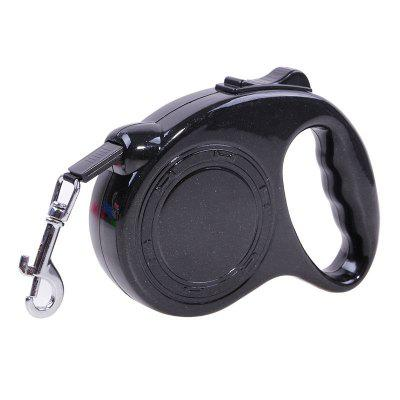 5M One Handed Lock Retractable Dog Leash Automatic Extending 1PCS