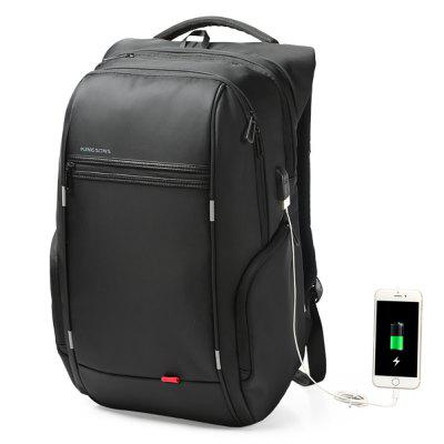 Kingsons KS3140W USB Charge Computer Backpacks Anti-Theft Waterproof Bags Fo Men
