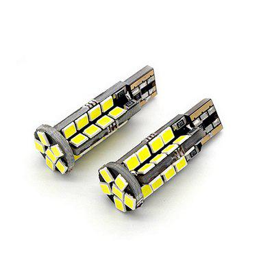 T10 W5W 2835 38SMD Canbus Error Free LED Light License Plate Bulbs 2PCS