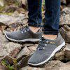 ZEACAVA Spring Autumn Men Casual Shoes New Arrival Ventilation Fashion Sneakers - GRAY