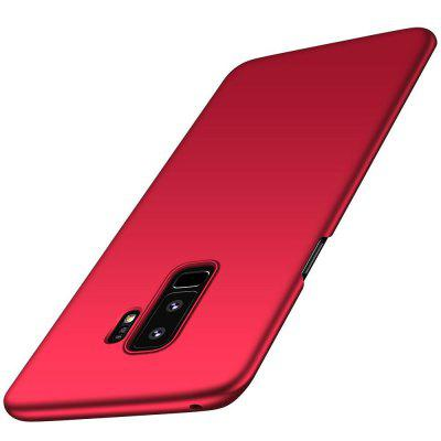 Para Samsung Galaxy S9 Plus Funda ultrafina Contraportada de color sólido PC dura