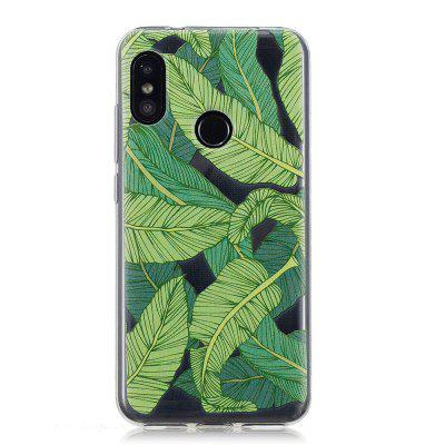 TPU Case for Xiaomi Mi A2 Lite Banana Leaf Pattern