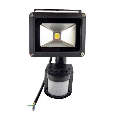 10W Wodoodporny 800LM PIR Motion Sensor Security LED Flood Light 85-265V