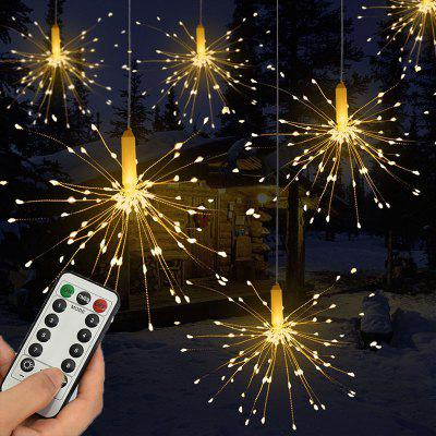 120LED Hanging String Firework Light with Remote Control for Outdoor Home Patio from Gearbest