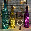 Creative LED Lanterns Bottle Stopper 3 Meter 30 Lights - SILVER