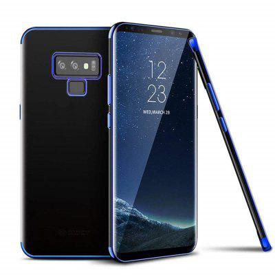 Slim Shock Clear TPU Plating Case Cover for Samsung Galaxy Note 9