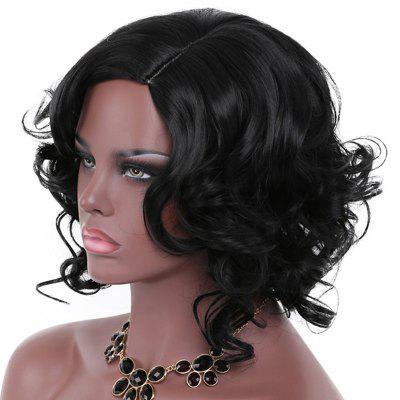 Fashionable Big Curl Short Wig
