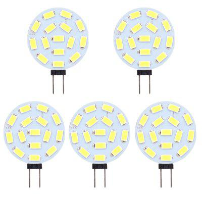 5730-15 SMD G4 LED Bulbs 2W AC/DC 10-30V Replace Halogen LampLighting