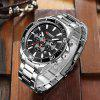 Curren 8309 Luxury Brand Analog Sports Wristwatch Male Quartz Watch - MULTI-E