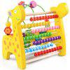 Revolving Number Maze Puzzle Learning Toys - GOLDEN BROWN