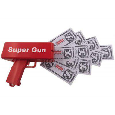 Fashion Gift Game Cash Cannon Funny Money Gun Toy Pistol