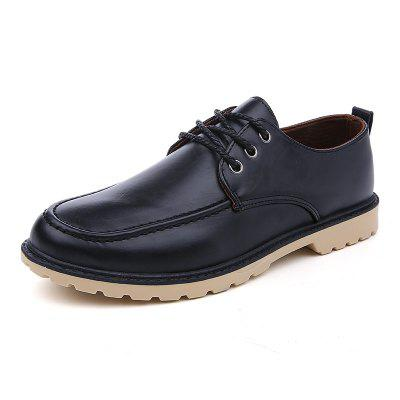 ZEACAVA New Men's Casual Fashion Tool Leather Shoes