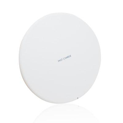 Minishile Ultra-slim Qi Quick Charge Wireless Charger Pad dla iPhone / Samsung