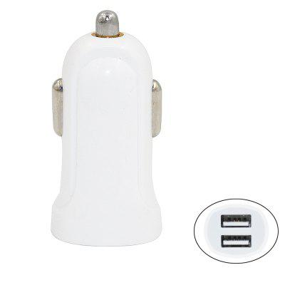 Minismile Portable 5V 2.1A Dual USB Car Charger Power Adapter for iPhone