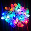 10PCS LED Light Paper Waterproof Lantern Balloons Floral Wedding Party Decor - MULTI