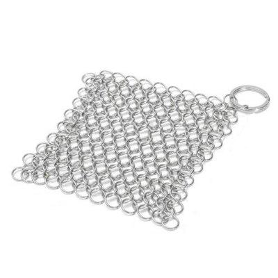 Kitchen Shaq Stainless Steel Chainmail Scrubber