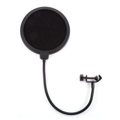 KTV Microphone Mic Wind Sreen  Filter Professional Double Layer Mesh
