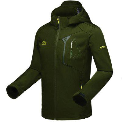 Hiking Jacket Camping Trip Trekking Coat for Men