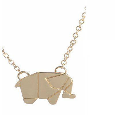 Elephant Alloy Plating Necklace Accessories