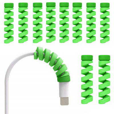 10pcs Cable Cord Screw Phone Accessory Protects Cute for iPhone