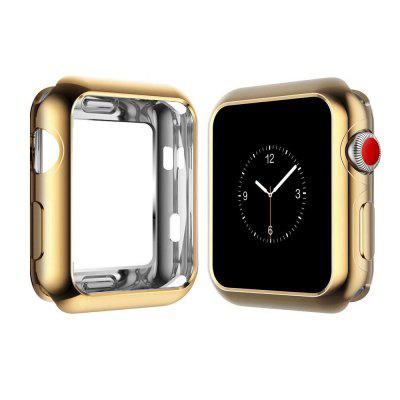 42mm Soft Flexible Lightweight TPU Plated Protector Case for Apple Watch