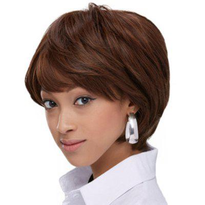 Fluffy Tilted Frisette Short Wig