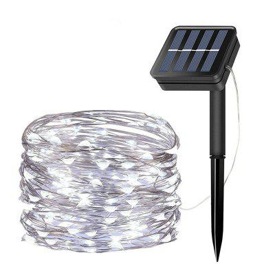 Waterproof Solar Powered 50 / 100 / 200 LEDs Lamp