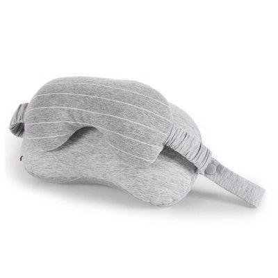 Pillow and Eye Mask 2 in 1 for Travel in Any Sitting Position Neck Support