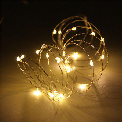 5M String Light do Patio Micro 50 Warm White Ray LED