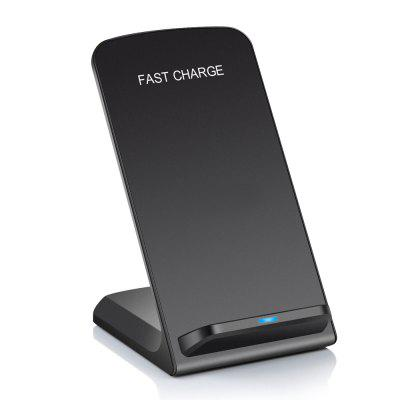 Fast Charging Wireless Qi Charger with 2 Coil for Samsung S8 / iphone X / 8