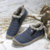 ZEACAVA Comfortable Winter Warm Cotton Shoes - PEACOCK BLUE