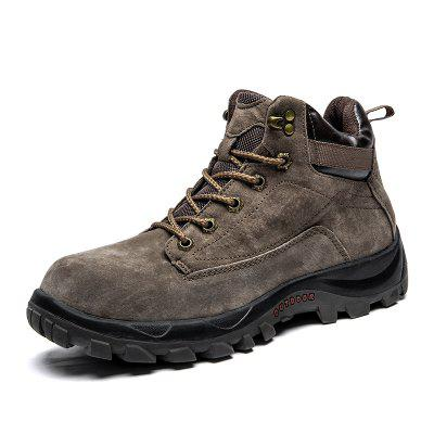 ZEACAVA Autumn and Winter Outdoor American Tooling Cotton Shoes