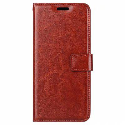 For Samsung J8 2018 Card Protection Leather Cover Case