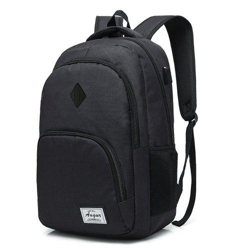 7bb04bc511 AUGUR Men Women Backpacks USB Charging Male Casual Travel Teenager Student  School Notebook Laptop Bag