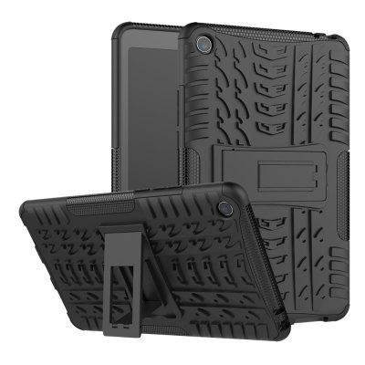 Double-protection Back Case with Bracket for Xiaomi Mi Pad 4