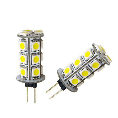 MOTOR DC 12V G4 3W 5W Home Car RV Marina Lámpara LED de luz 13/18 Leds 5050 SMD