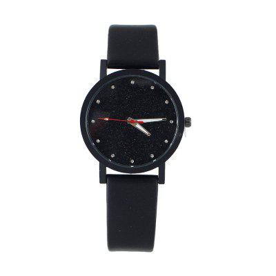 Fashion Minimalist Multicolor Dial Watch for Women