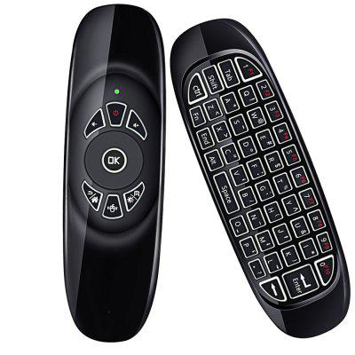 AF1202.4G Mouse Whole Keyboard Remote Control With LED Backlight